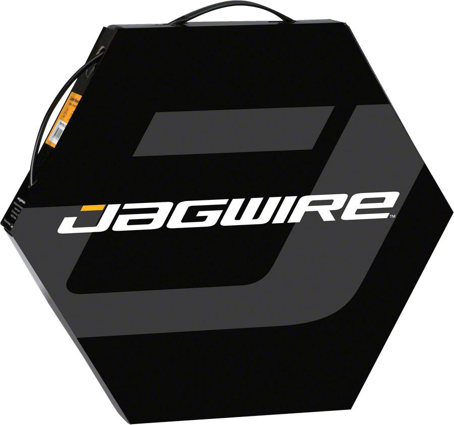 Jagwire 5mm Sport Derailleur Housing with Slick-Lube Liner 50M File Box Black
