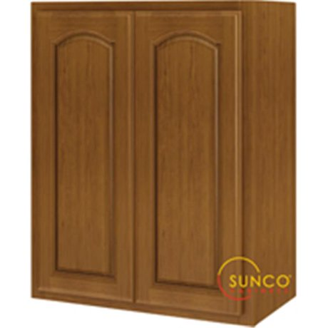 Sunco w2430ra b kitchen cabinet oak 2 door 24 x 30 for 30 x 30 kitchen cabinets