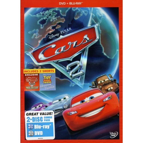 Cars 2 (DVD + Blu-ray) (DVD Amaray) (Widescreen)