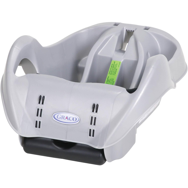 Graco SnugRide Classic Connect Infant Car Seat Base, Metallic Silver