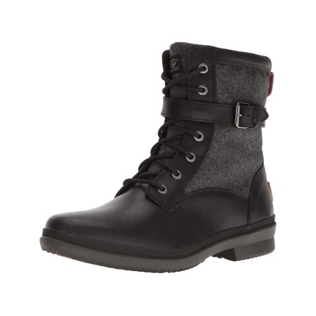 the best attitude f1b1f 3019e adidas - UGG Women s Kesey WP Two Tone Lace Up Combat Boots 1005264 -  Walmart.com