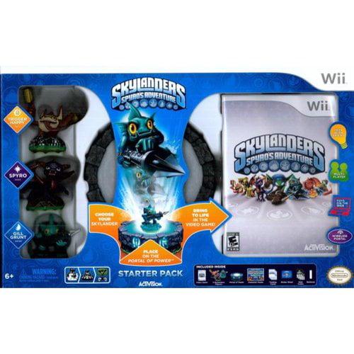 Skylanders Wii Spyro's Adventure Starter Pack