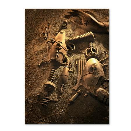 Trademark Fine Art 'Ray Guns On Mars' Canvas Art by Joe Felzman (Ray Ban Trademark)