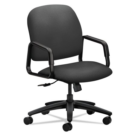 HON Solutions Seating 4000 Series Executive High-Back Chair, Iron (Hon Hon4002ab12t Solutions)