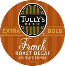 Keurig Pk 18 Decaf French Roast-Tully's 01420