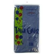 54 X 108 Navy Blue Plastic Party Table Cover (144 Units Included)