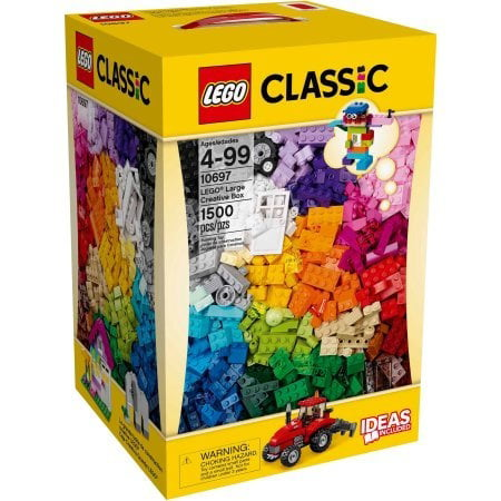 Lego Classic Creative Box, Toy Building Set, 39 Colors, 1500 - Classic Toms