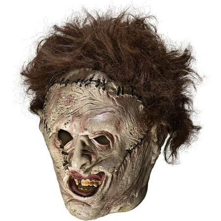 Best Halloween Masks Canada (Leatherface Adult 3/4 Mask)