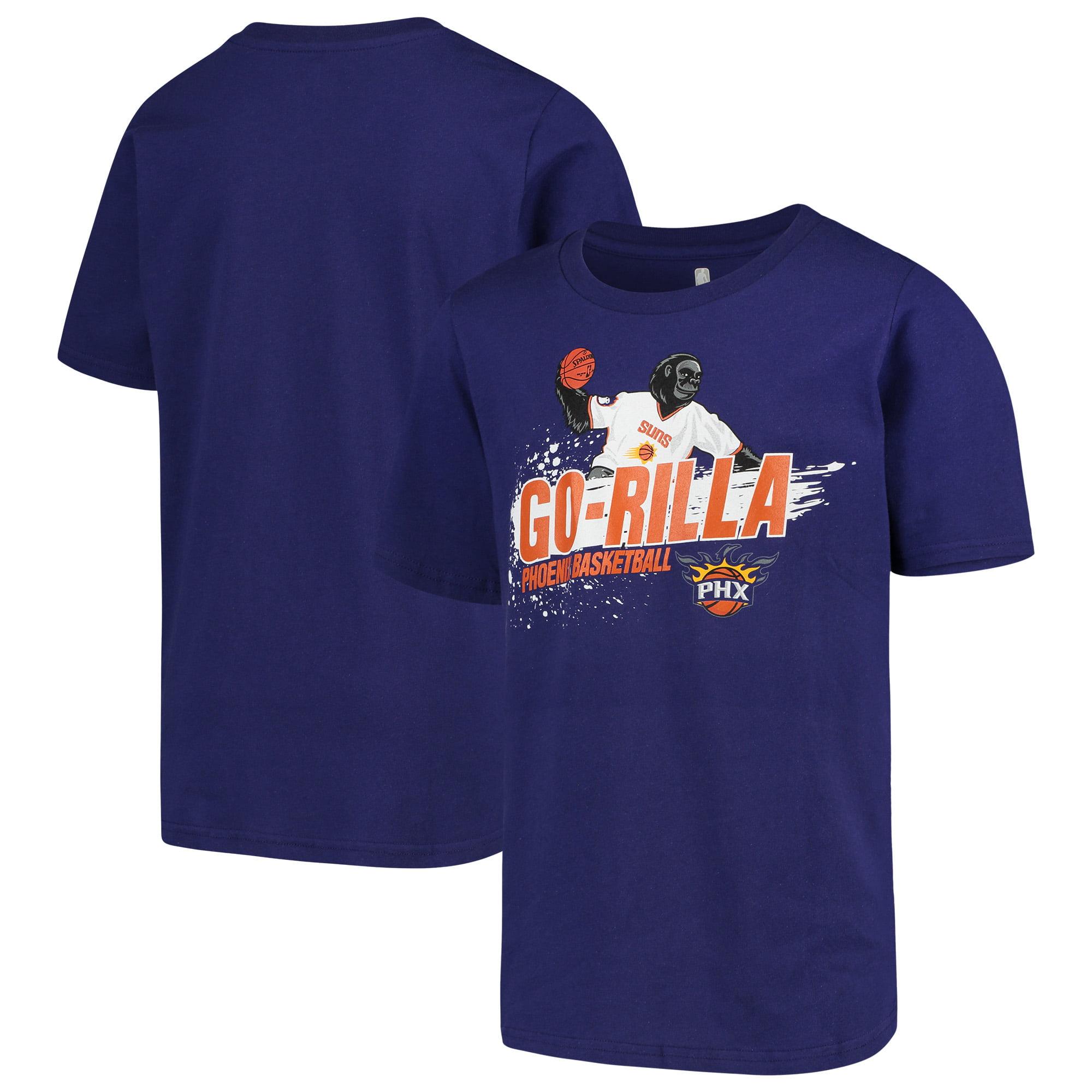 Phoenix Suns Youth Mascot Ice Break T-Shirt - Purple