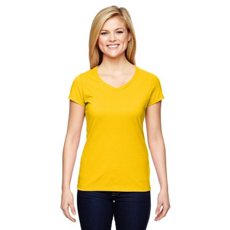 65810f859ea2 Champion - Champion Women's Vapor Cotton Short-Sleeve V-Neck T-Shirt T050 -  Walmart.com