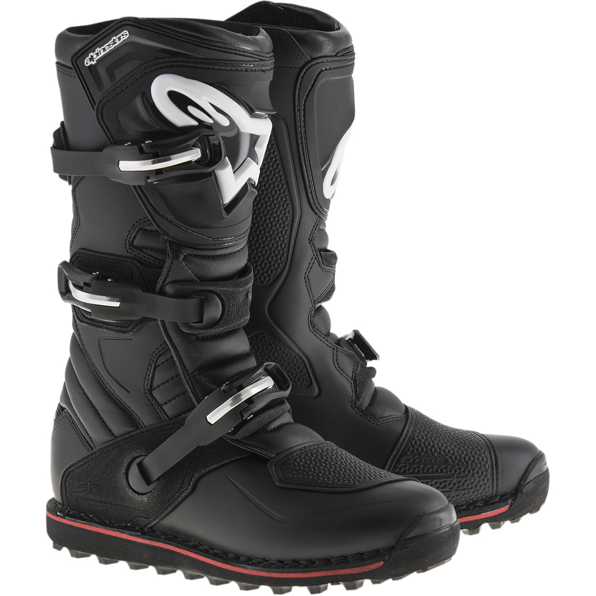 Alpinestars Tech-t Boots Offroad Boot (multi Black/red, Usa Size 5)