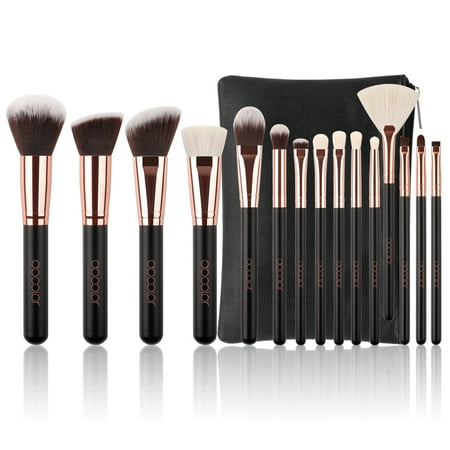 Docolor Professional Makeup Brushes Set with Cosmetic Case,