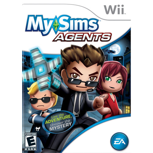 Electronic Arts My Sims Agents (Wii)