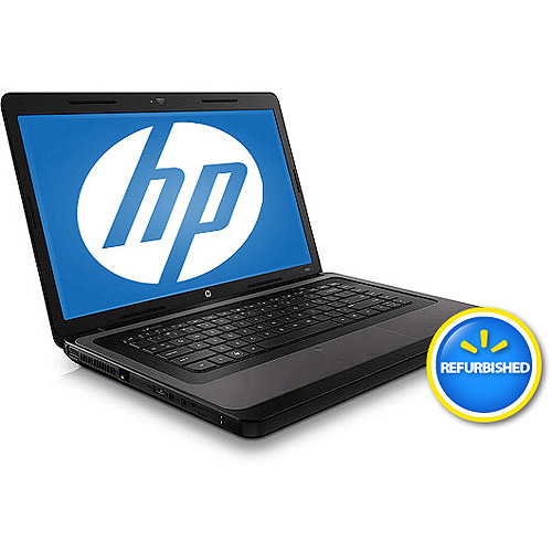 "HP Refurbished Black 15.6"" 2000-369WM Laptop PC with AMD Dual-Core E-450 Accelerated Processor and Windows 7 Home Premium"