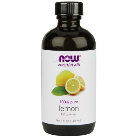 NOW Essential Oils, Lemon Oil, Cheerful Aromatherapy Scent, Cold Pressed, 100% Pure, Vegan, (Shaving Lemon Essential Oil)