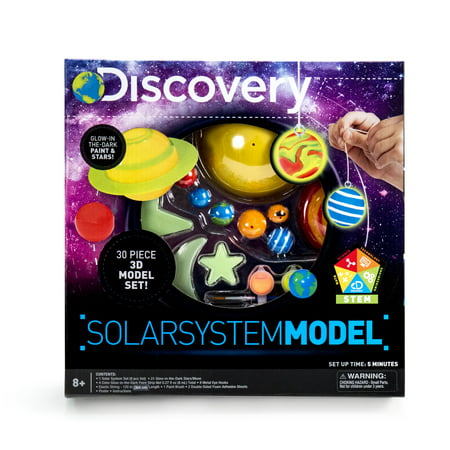 Discovery Solar System Model, 1 Each