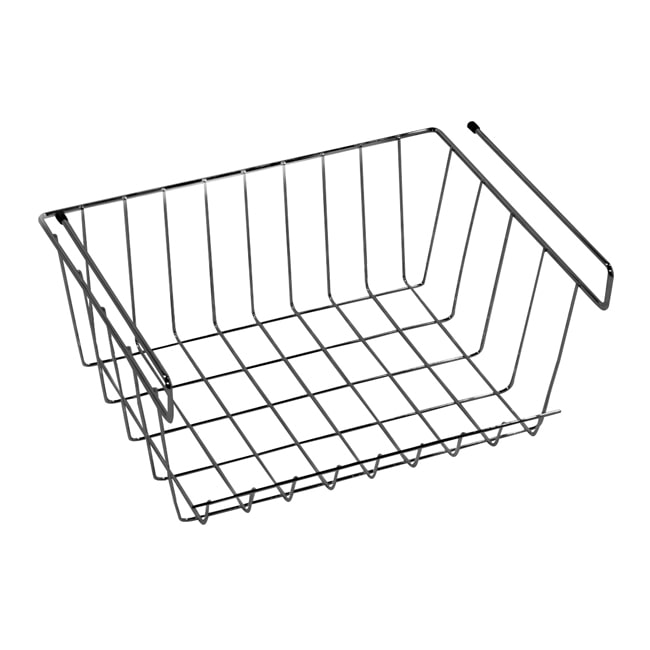 LTL Home Products Z1 Small Under Shelf Basket Closet Storage