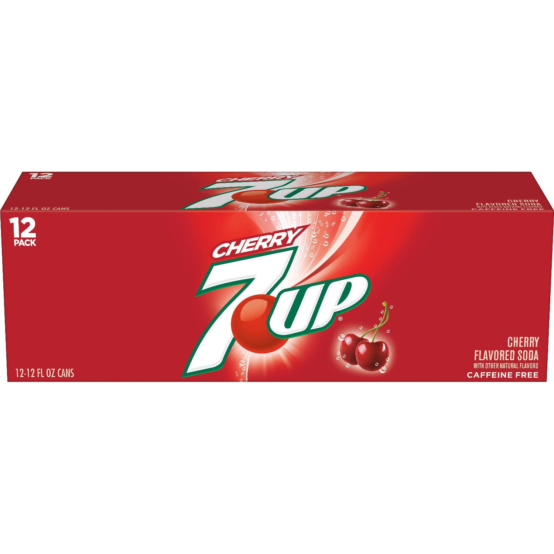 7UP Cherry, 12 fl oz, 12 pack