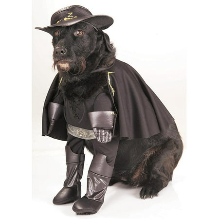 Pet Zorro Costume Rubies 885905 (Zorro Costume)