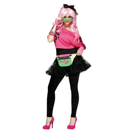 80's Party Animal Fanny Pack Costume Accessory - Party Animal Costume