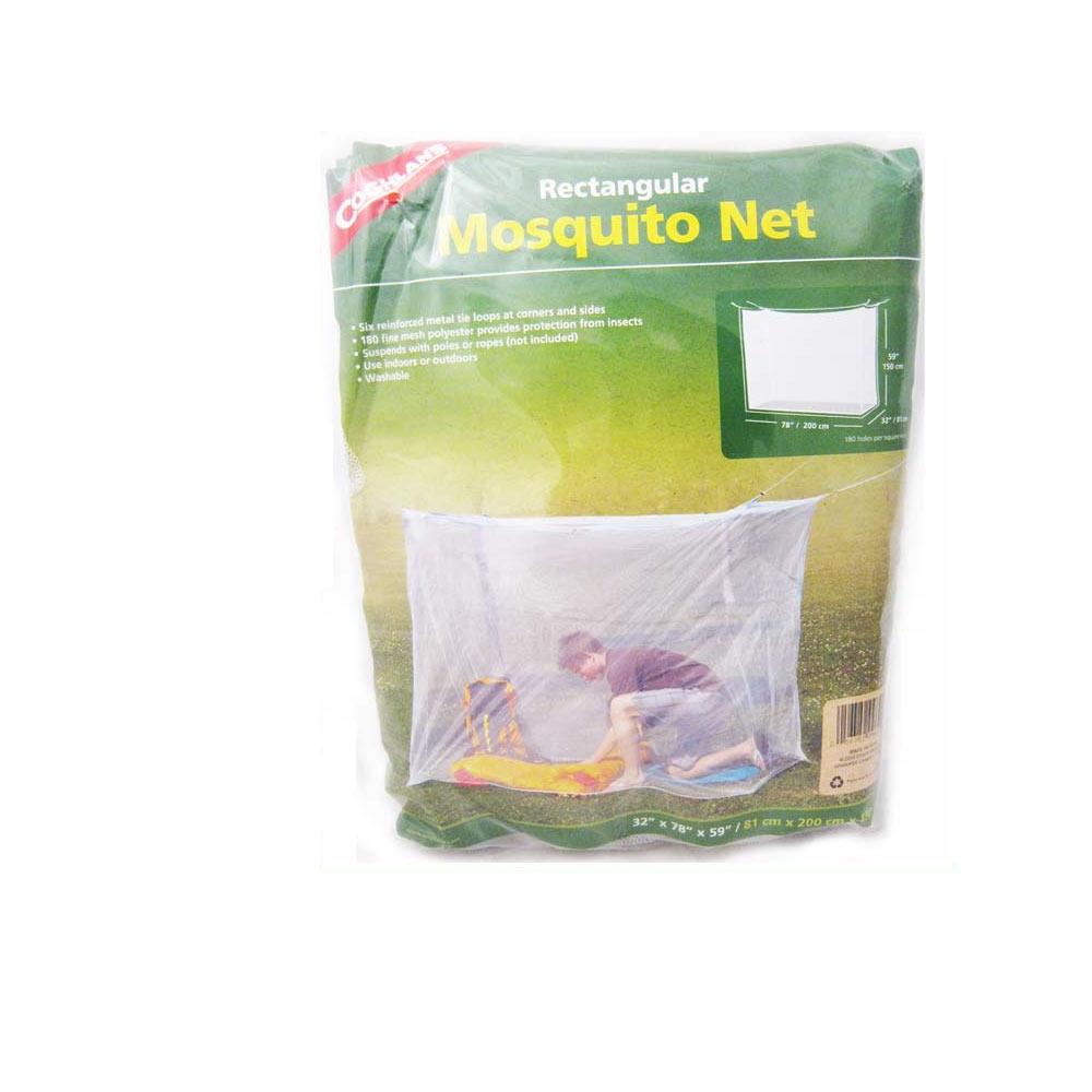Insect Mosquito Fly Net Netting Indoor Outdoor Camp Portable White Bug Cover New by Coghlan's
