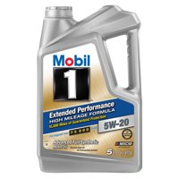 Mobil 1 Extended Performance Full Synthetic Motor Oil 5W-20, 5 Quart
