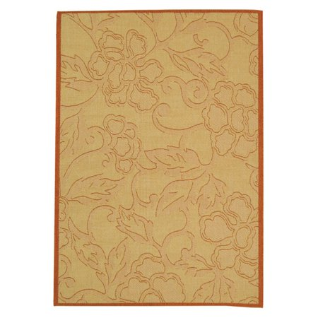 - Safavieh Courtyard 2726 Floral Indoor/Outdoor Area Rug