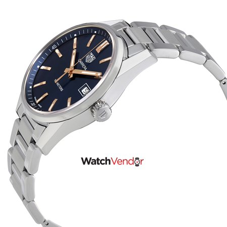 2810baa4898 Tag Heuer Carrera Quartz 39 mm Blue Dial Ladies Watch WAR1112.BA0601 ...