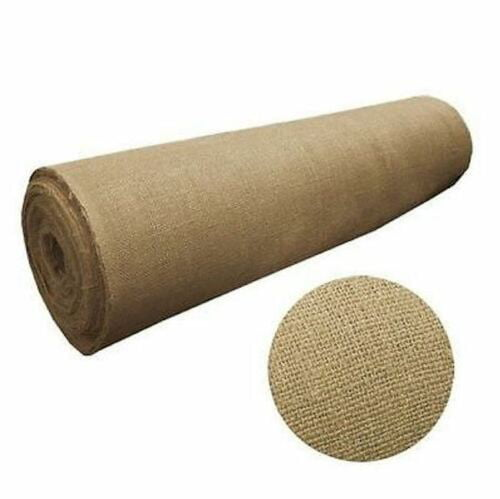 5 Yard Roll 10 Oz Burlap Premium Natural Vintage Jute Fabric 40 Inches Wide Upholstery
