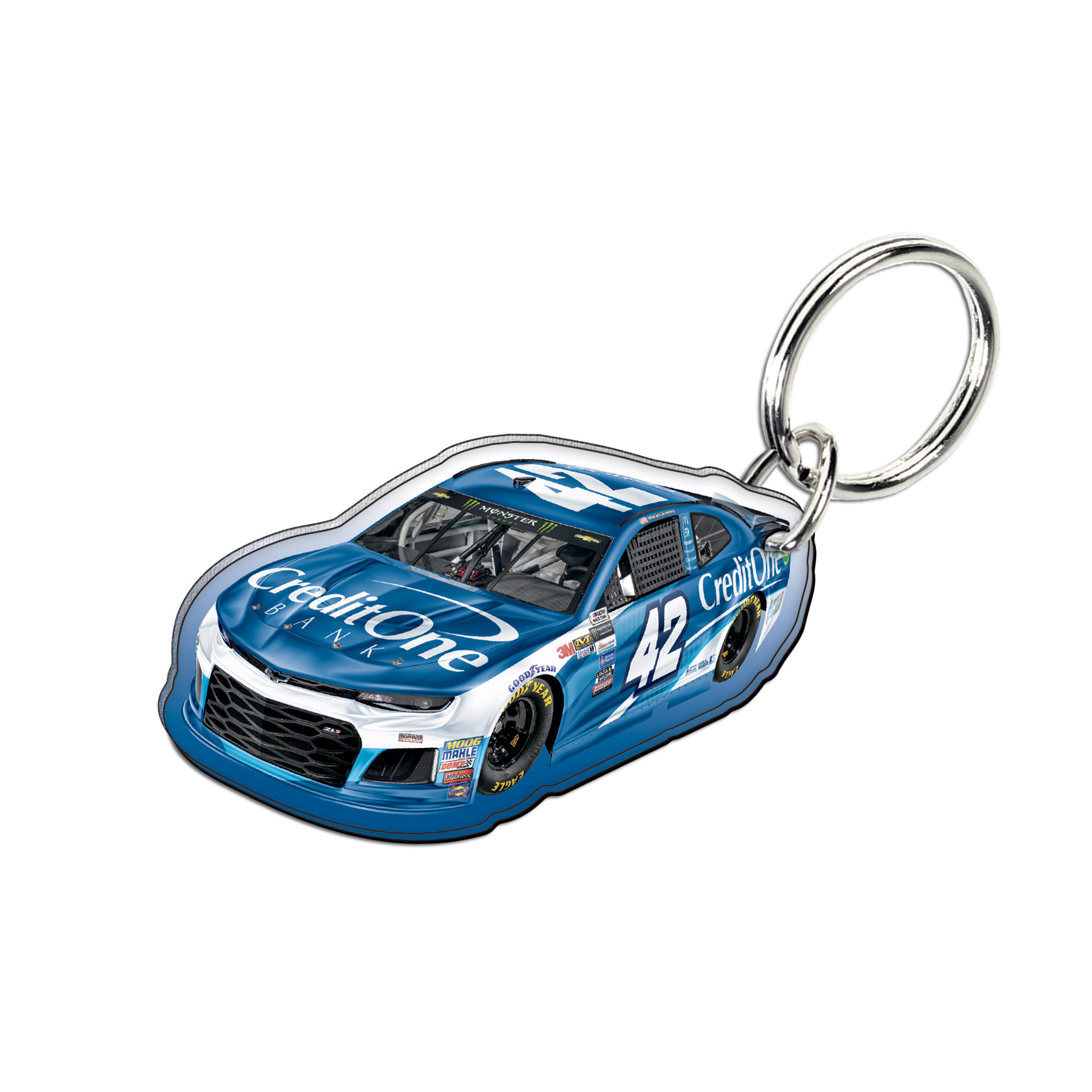 Kyle Larson WinCraft 2018 Car Acrylic Key Ring - No Size