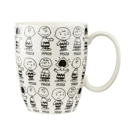 Peanuts Anniversary Charlie Mug