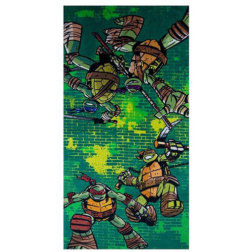 nickelodeon teenage mutant ninja turtles bath towel - walmart