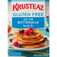 Krusteaz Gluten Free Buttermilk Pancake Mix, 16-Ounce Box