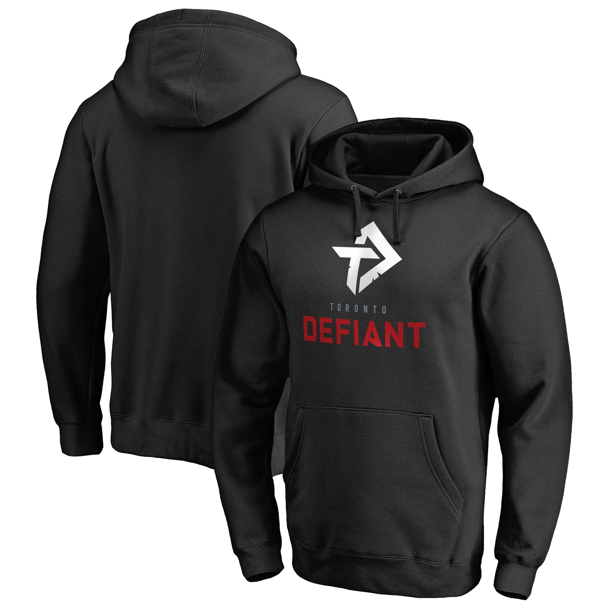 Toronto Defiant Fanatics Branded Team Identity Pullover Hoodie - Black