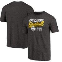 Wichita State Shockers Ballpark Tri-Blend T-Shirt - Black