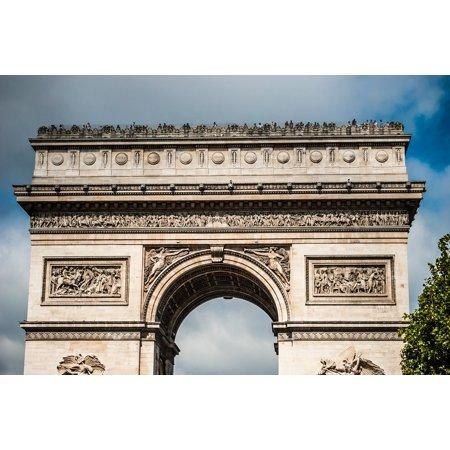 LAMINATED POSTER Arch Of Triumph Paris France Poster Print 24 x 36