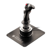 """Thrustmaster Hotas Warthog Flight Stick The Hotas Warthog Flight Stick for PC from Thrustmaster is a joystick replica of the U.S. Air Force A-10C attack aircraft flight stick. It features a detachable metal handle and detachable metal plate for desktop or cockpit-style use. Both the buttons and trigger are pressure-sensitive to allow for a realistic flight simulation experience. In total there are 19 action buttons as well as one 8-way """"point of view"""" hat. The flight stick has a USB connector and upgradeable firmware. It's also weighted for stability."""