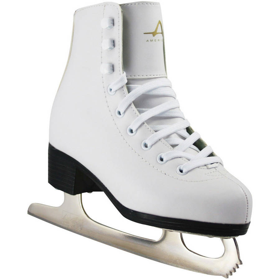 American Athletic American Girls' Tricot - Lined Ice Skates