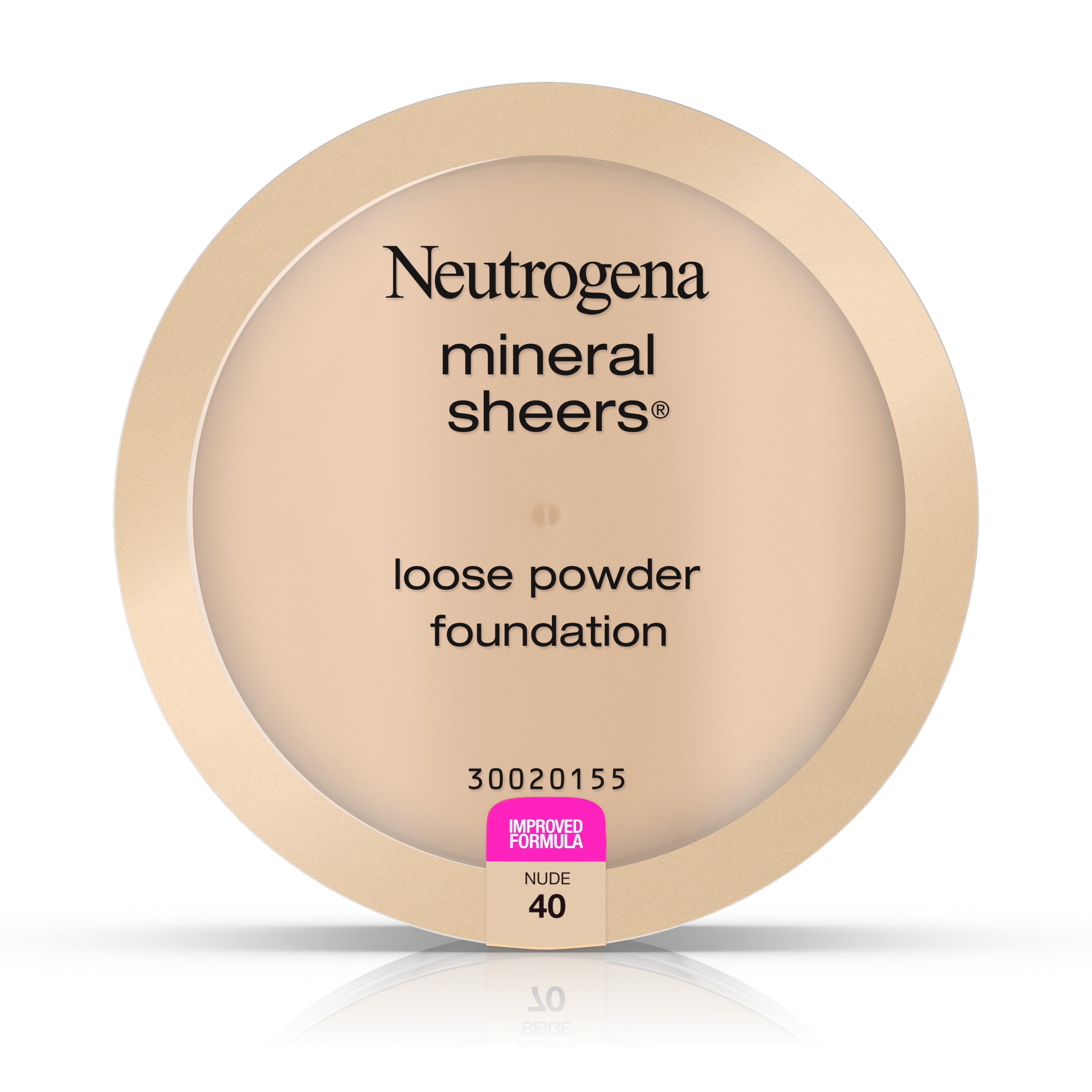 Neutrogena Mineral Sheers Loose Powder Foundation, Nude 40,.19 Oz.