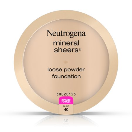 Neutrogena Mineral Sheers Loose Powder Foundation  Nude 40   19 Oz