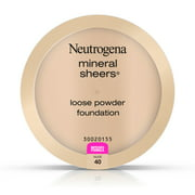 Neutrogena Mineral Sheers Loose Powder Foundation, Nude 40, .19 Oz