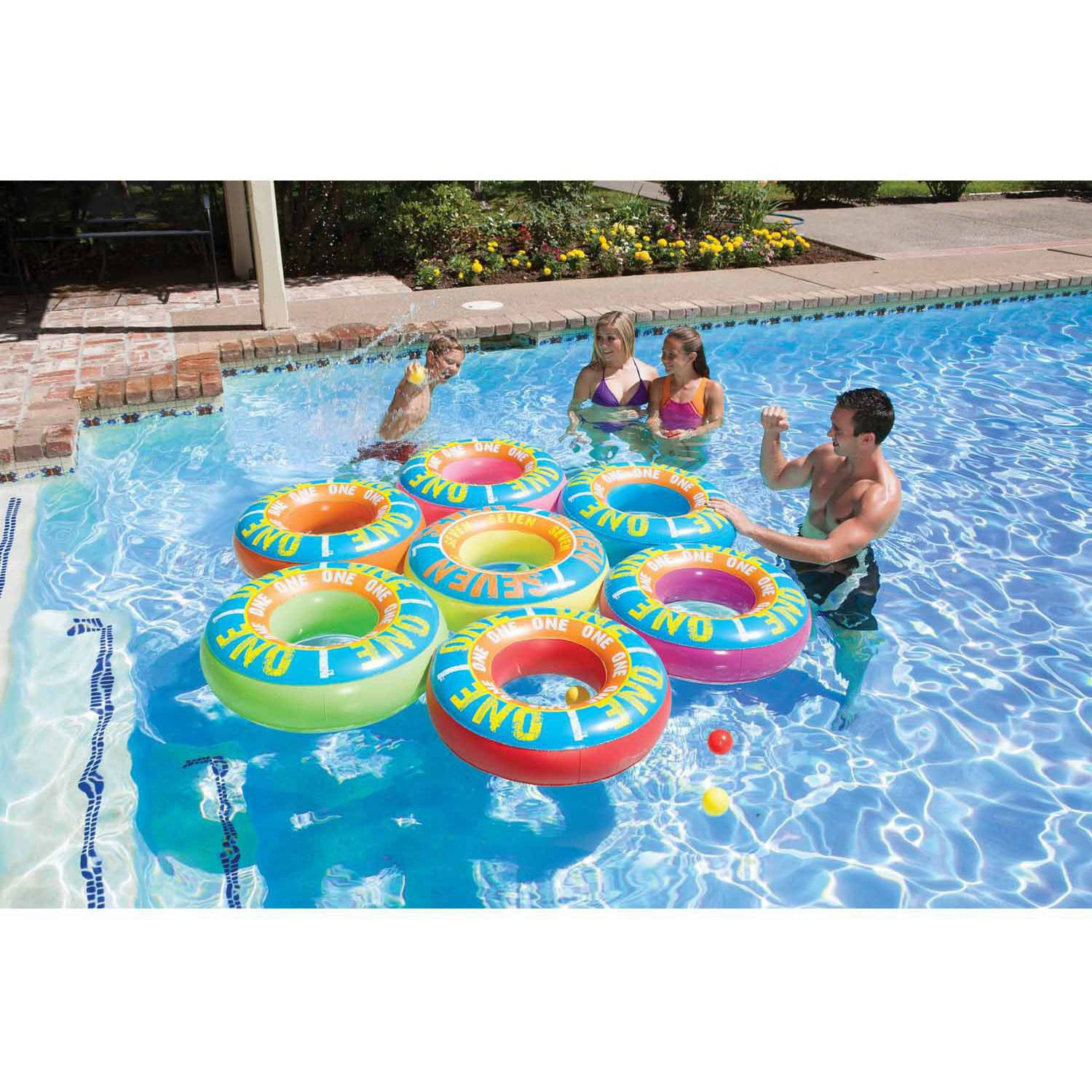 Poolmaster Ring-A-Ding-Ding Island/Lucky 7 Game