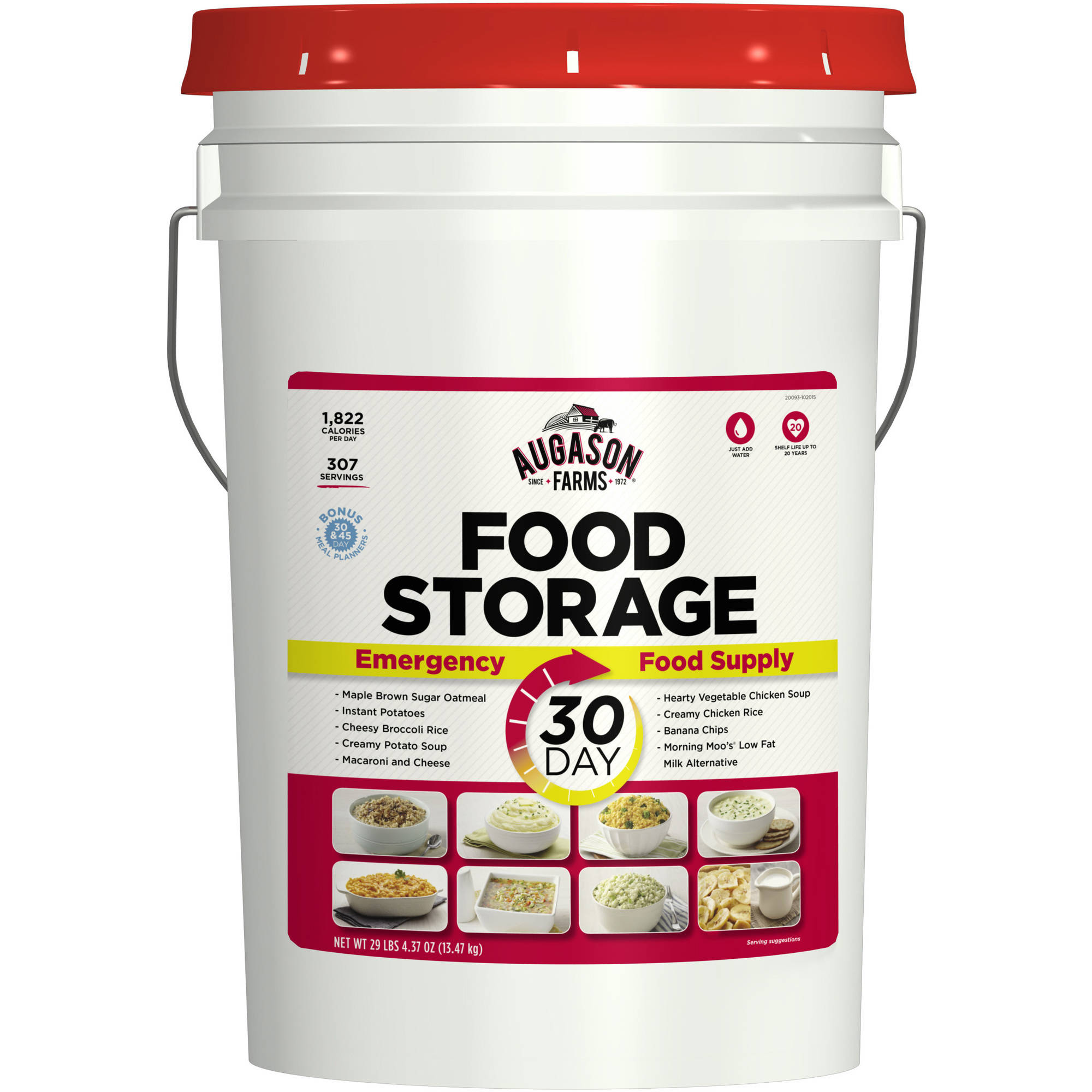 Augason Farms 30-Day Emergency Food Pail, 468.37 oz by Blue Chip Group