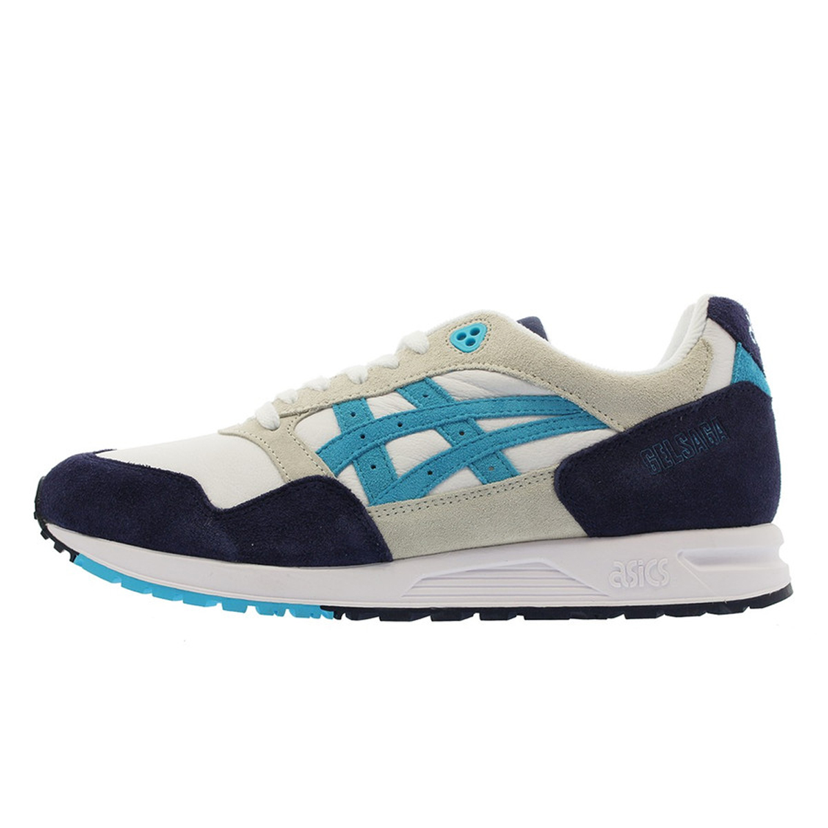 ASICS ASICS GEL Saga Men White Aquarium (1193A095 103  White Aquarium (1193A095 103