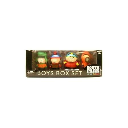 Mezco Toyz South Park Boys Box Set (Mezco South Park Boy Band Deluxe Set)