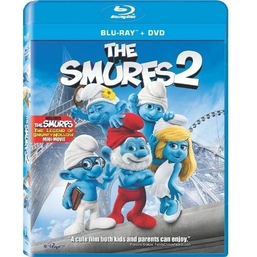 The Smurfs 2 (Blu-ray + DVD) (With INSTAWATCH) (Widescreen)