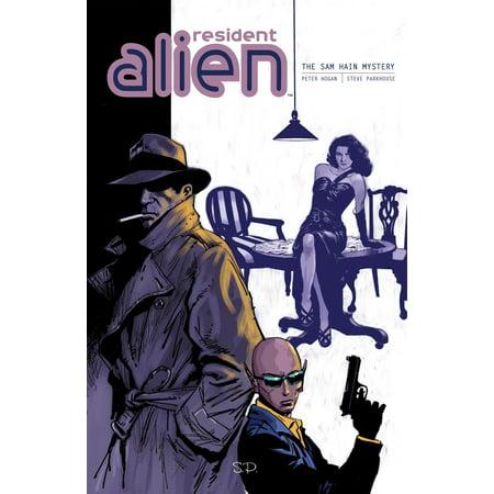 Resident Alien Volume 3: The Sam Hain Mystery - - Halloween Sam Comic Book