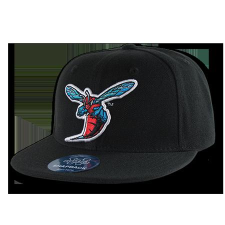 NCAA Delaware State University Hornets 6 Panel Snapback Baseball Caps Hats (Hornets Baseball)