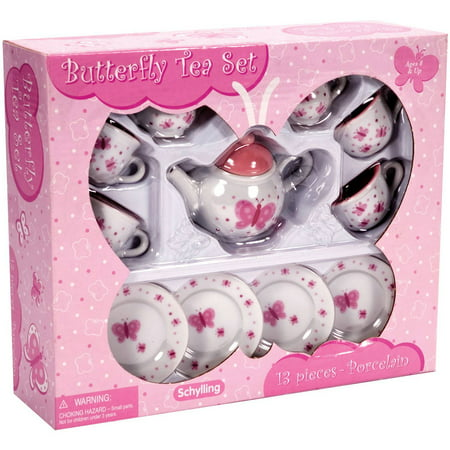 Butterfly Mini Tea Set (Girls Tea Party)