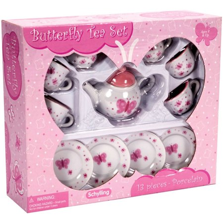Butterfly Mini Tea Set - Kids Tea Party Set